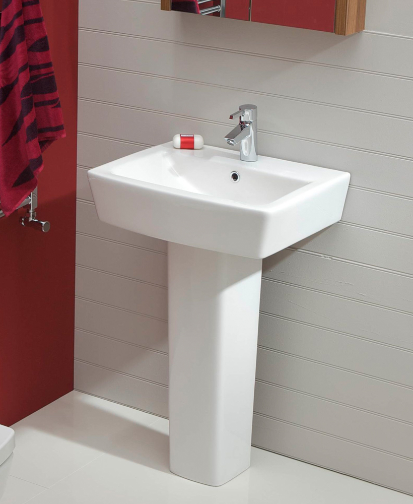 Cubo Basin 55cm & Pedestal