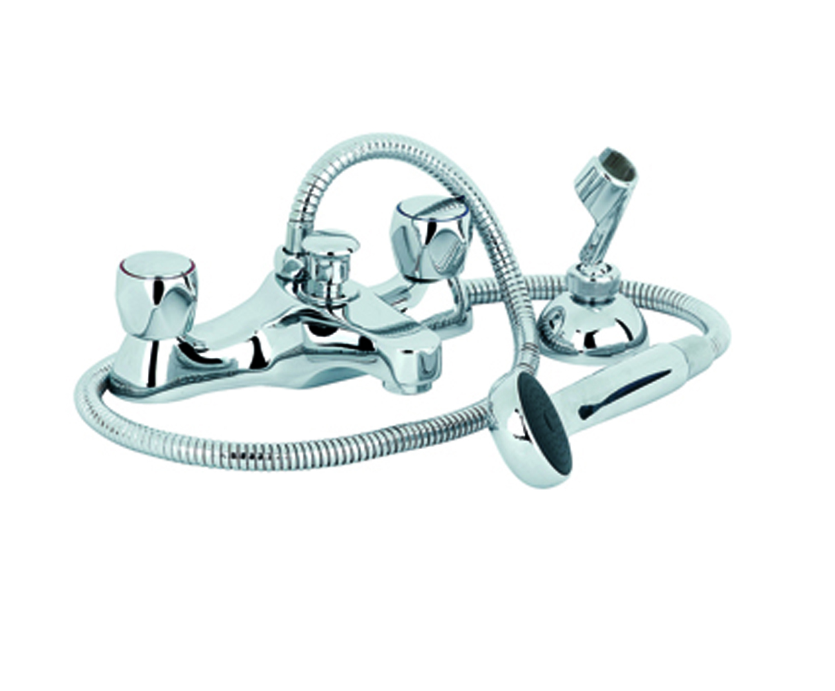 Metal Head Bath Shower Mixer - *FURTHER REDUCTIONS