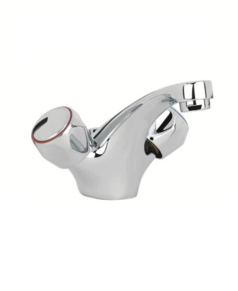 Metal Head Basin Mixer with FREE Click Clack Basin Waste - *FURTHER REDUCTIONS