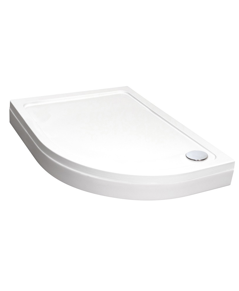 Easy Plumb Slimline 1200 x 900 Offset Quadrant Tray Right Hand