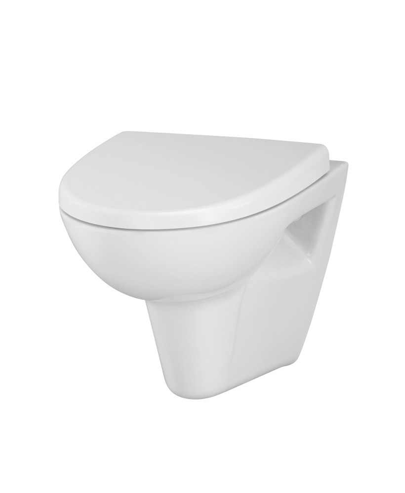 Prato RIMLESS Wall Hung Toilet & Soft Close Seat - **FURTHER REDUCTIONS