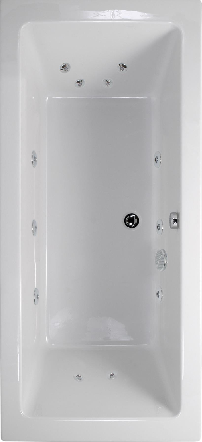 extra deep whirlpool bathtub. duo 1800x900 double ended 12 jet whirlpool bath - extra deep bathtub