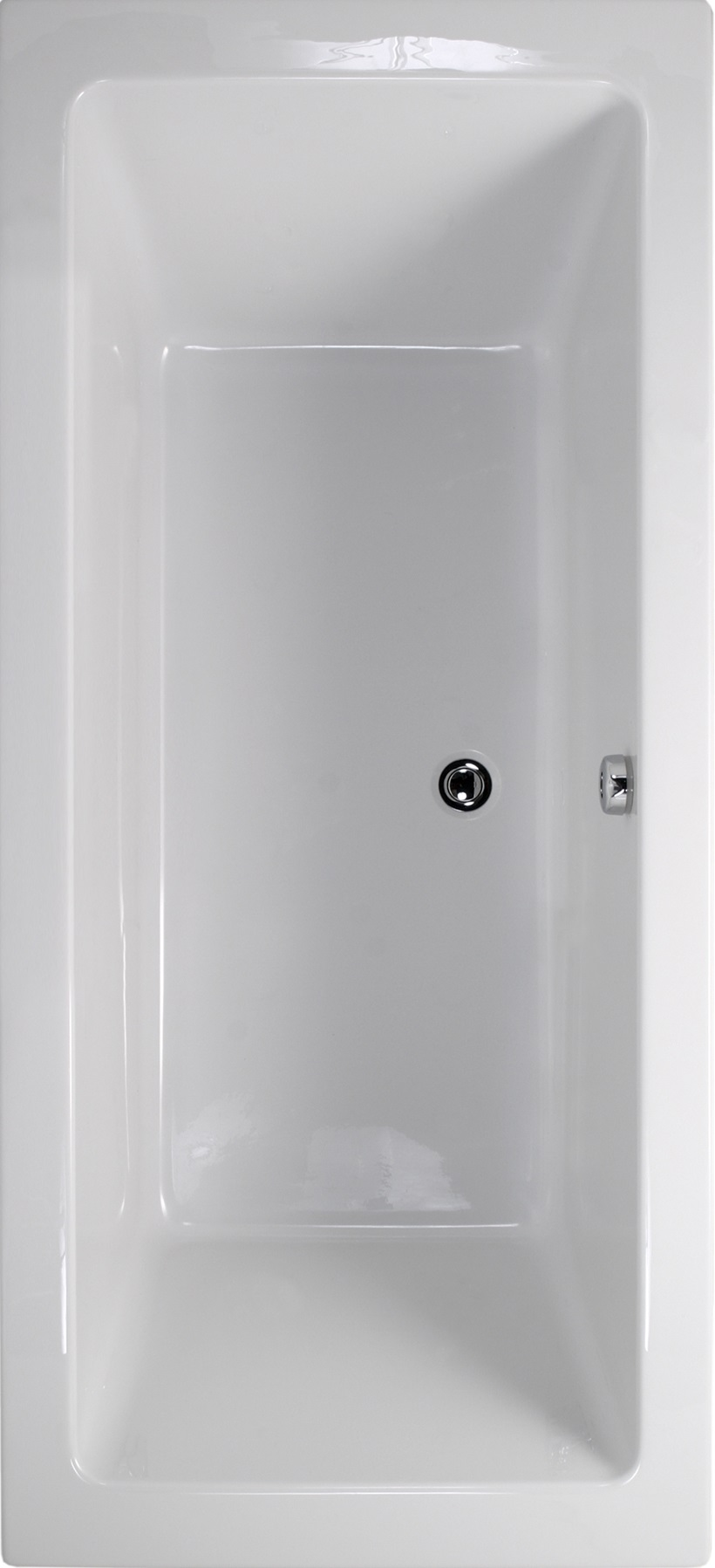 Duo 1600x700 Double Ended Bath
