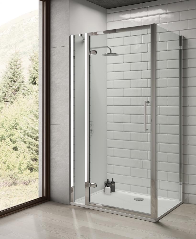 Rival 8 mm 1000 Shower Side Panel - Adjustment 960 - 990 mm