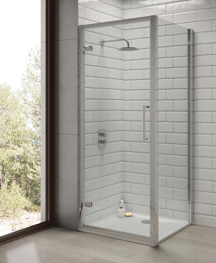 Rival 8 mm 800 Shower Side Panel - Adjustment 760 - 790 mm