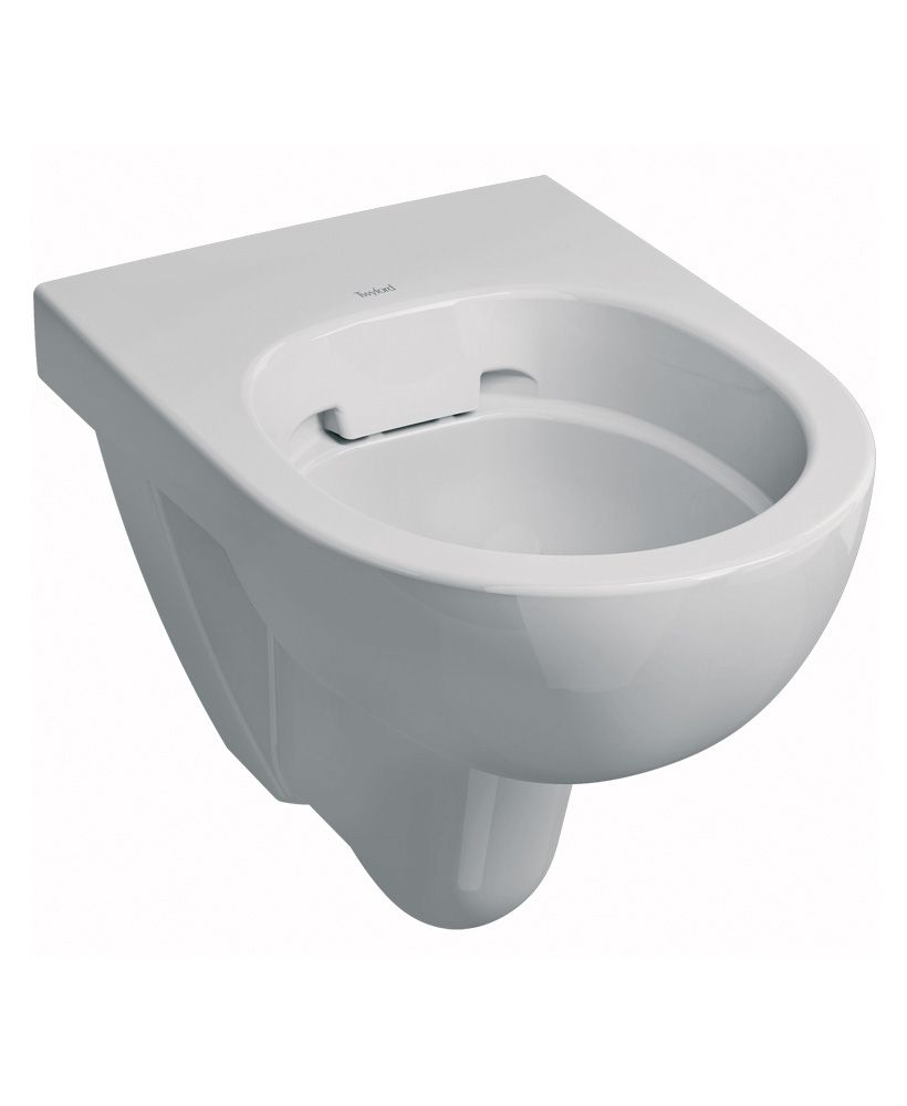 Twyford E100 Round Wall Hung Rimfree® Toilet with Seat - **FURTHER REDUCTIONS ** an extra 10% off with code EASTER10