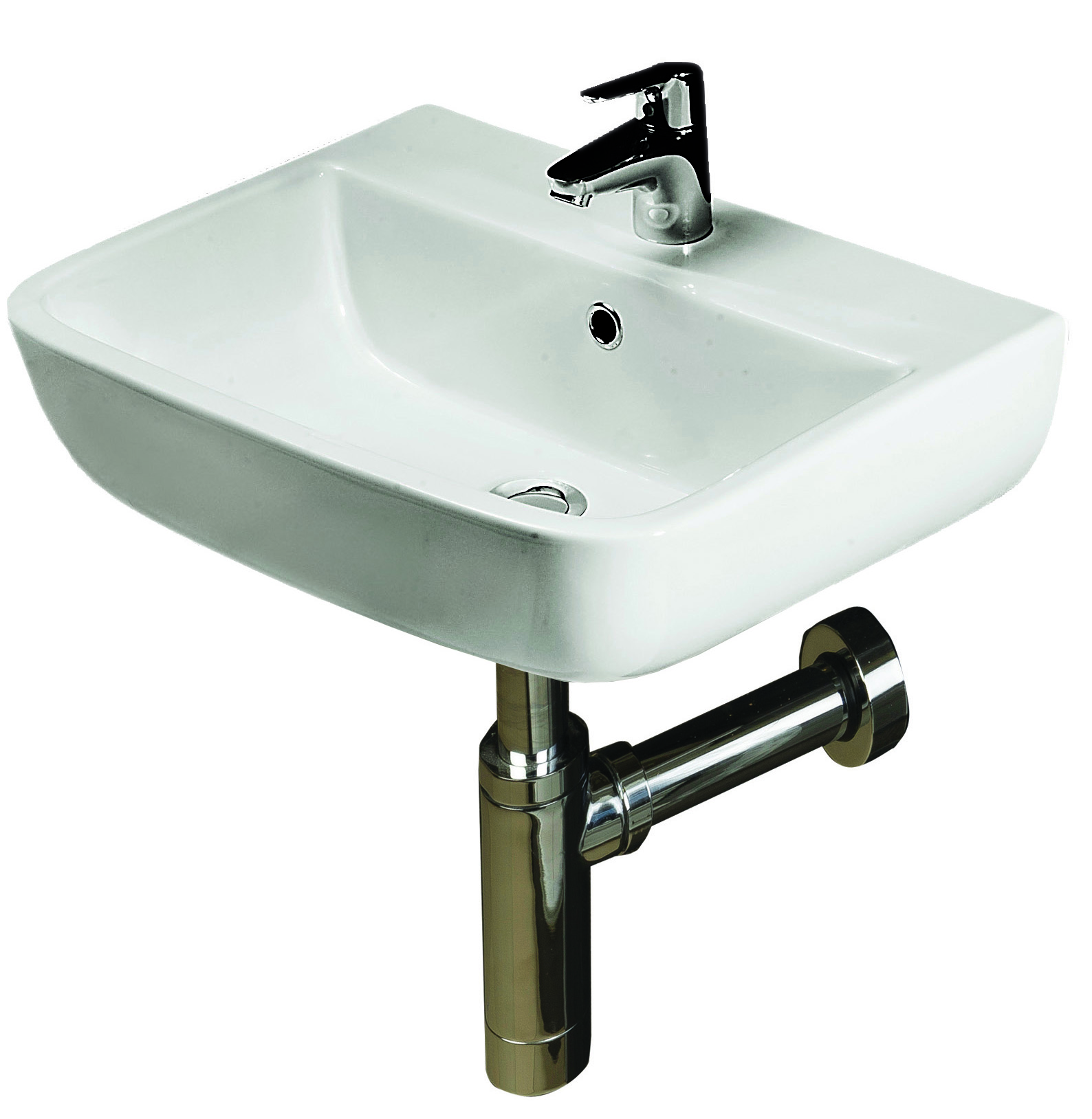 RAK Series 600 Basin 40cm - 1 Tap Hole