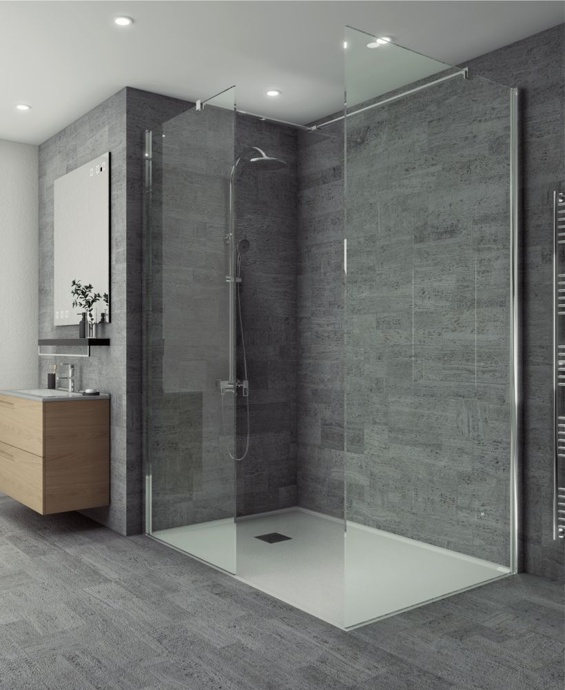Salon Range 700 mm Wetroom Side Panel