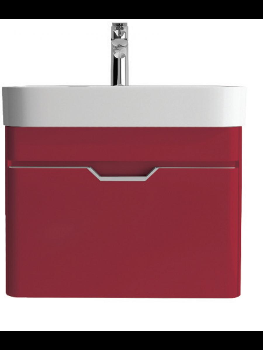 Aquiana Red Vanity Unit and Basin