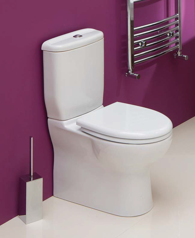 Oscar Close Coupled Toilet & Soft Close Seat - Short Projection 600mm- with ECO Flush