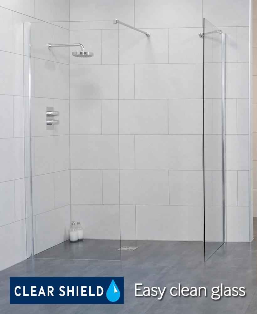 LIFE 1200 Wetroom Panel - Adjustment 1175-1200mm
