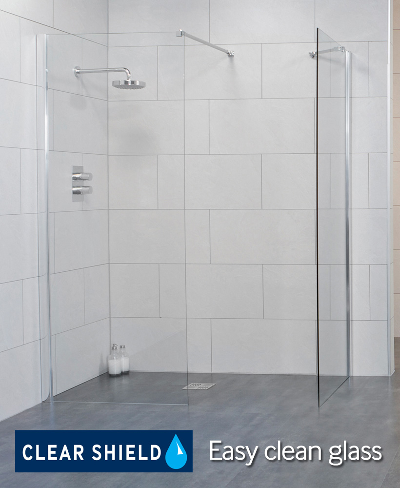 LIFE 700 Wetroom Panel - Adjustment 675-700mm  - ** FURTHER REDUCTIONS