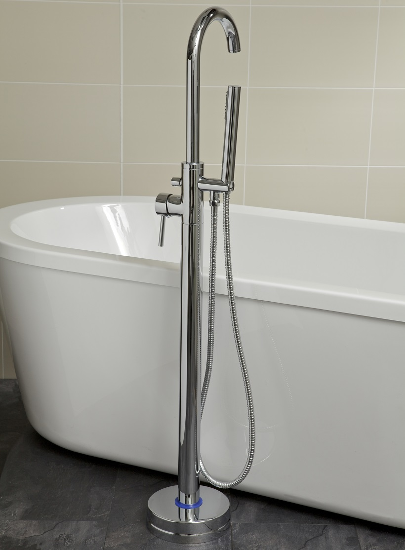 Harper Freestanding Bath Shower Mixer - *FURTHER REDUCTIONS