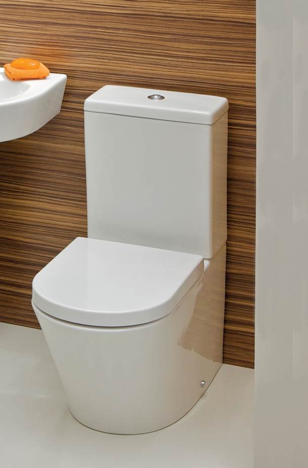 Rondo Close Coupled Toilet & Soft Close Seat