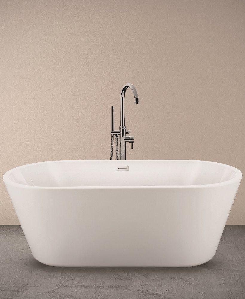 Zara 1595 x 750 Free Standing Bath