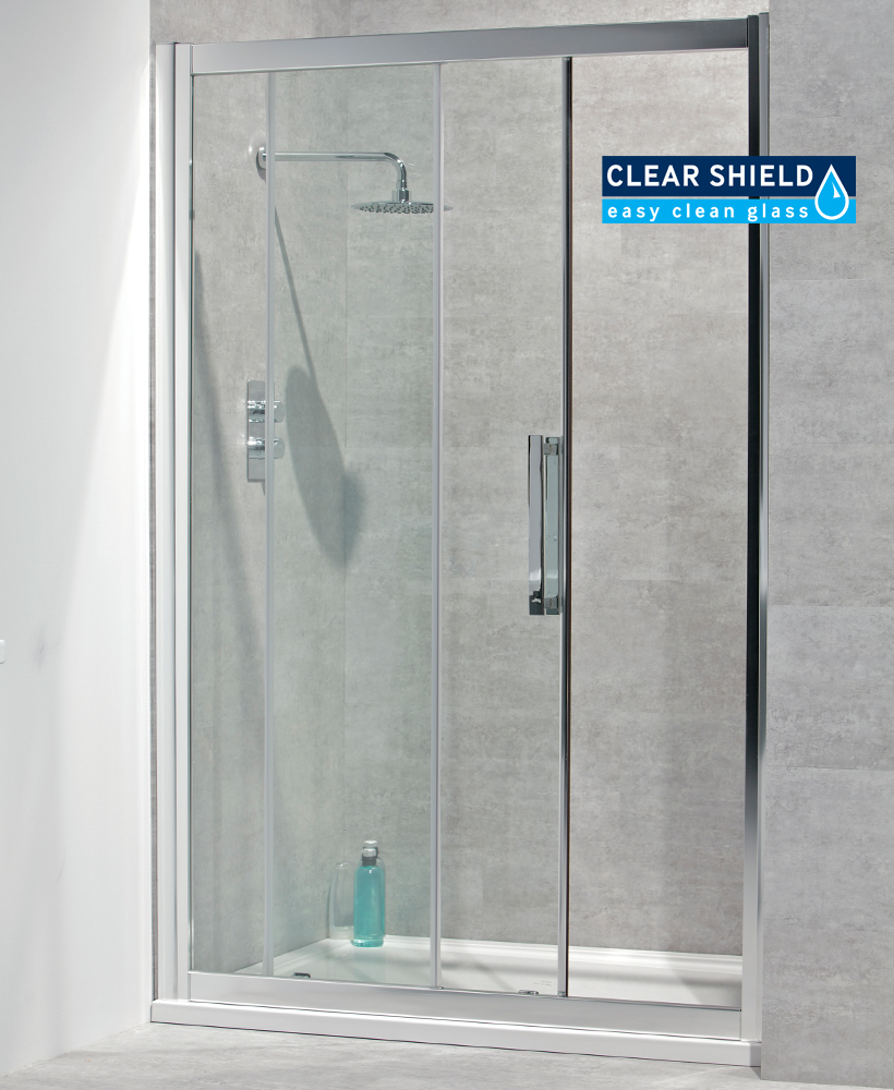 Avante 8mm 1200 sliding shower door for 1200mm shower door sliding