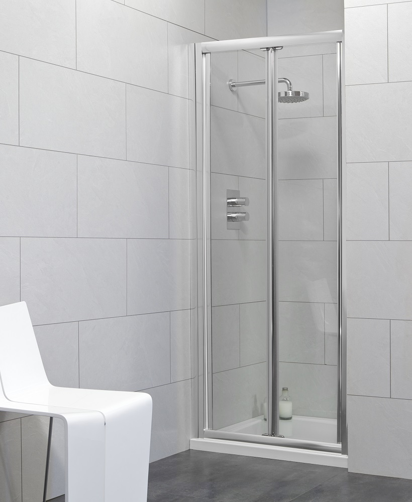 Bifold Bathroom Door : Cello bifold shower door adjustment mm