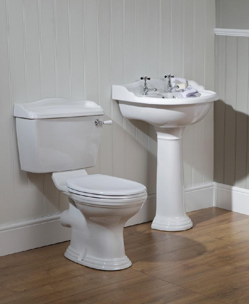 Oxford Toilet And Wash Basin Set