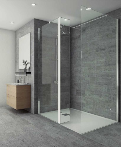 Salon Range 300mm Wetroom Flipper Panel