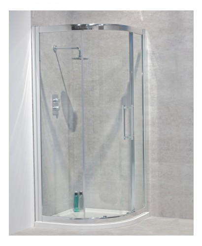 Avante 8mm 900 Quadrant Single Shower Door - Adjustment 850-880mm