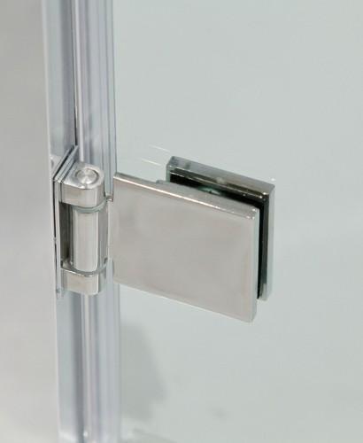 Double Hinged Shower Door : Hinge door enclosures avante mm hinged shower
