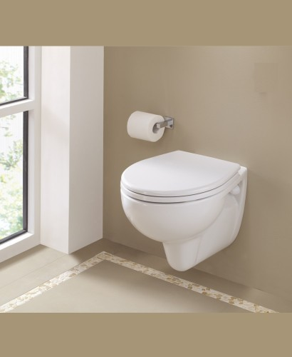 Twyford Alcona Wall Hung Toilet & Soft Close Seat