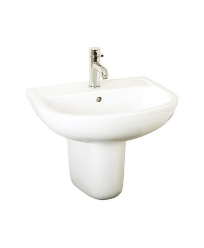 RAK Compact Basin 55cm and Semi Pedestal