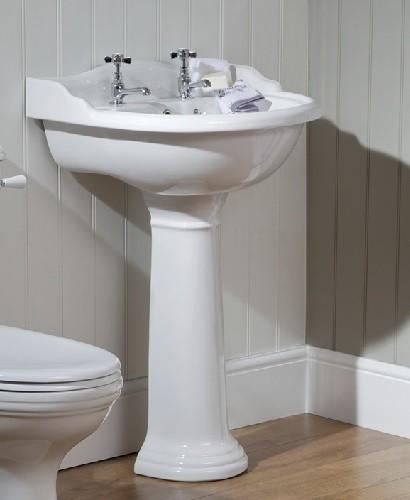 Oxford Basin 60cm & Pedestal  2 TH