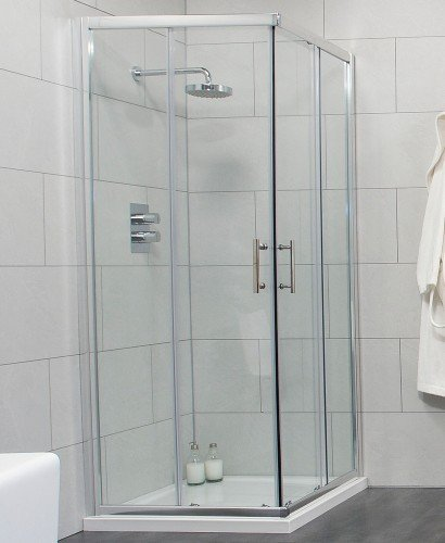 Cello 800 Corner Entry Shower Enclosure - Adjustment 765-790mm