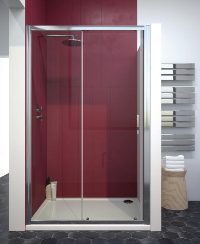 Cello Plus 1300 Sliding Door, Adjustment 1240 - 1290mm