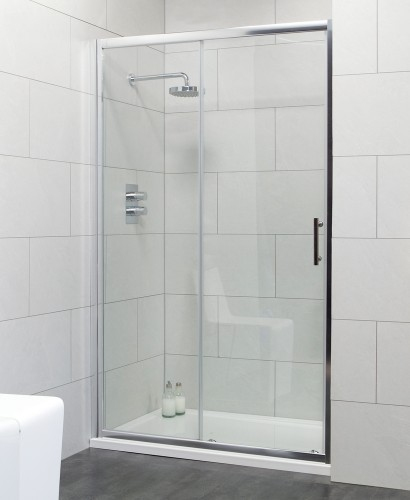 Cello 1000 Sliding Shower Door - Adjustment 940-990mm - ** 60% Off While Stocks Last