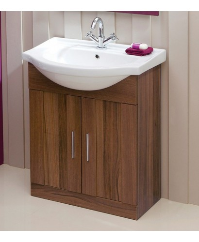 Cordoba Walnut 65cm Vanity Unit Basin