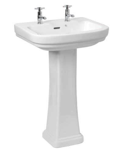 RAK Decor Basin 55cm & Pedestal (2TH)