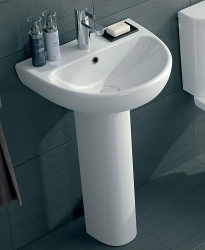 Twyford E100 Round 550 Basin & Pedestal