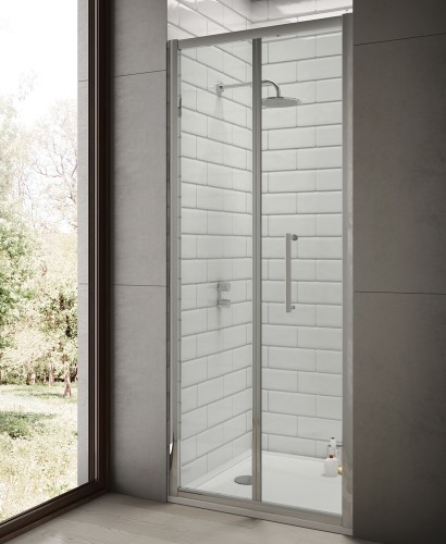 Rival 760 x 700 Bifold Shower Door