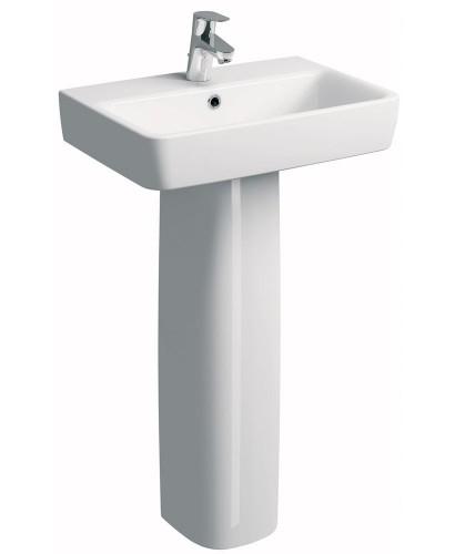 Twyford E200  600 Basin & Pedestal