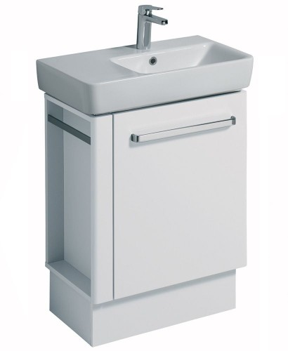 Twyford E200 650 White Vanity Unit Floor Standing with LH Towel Rail** an extra 10% off with code EASTER10