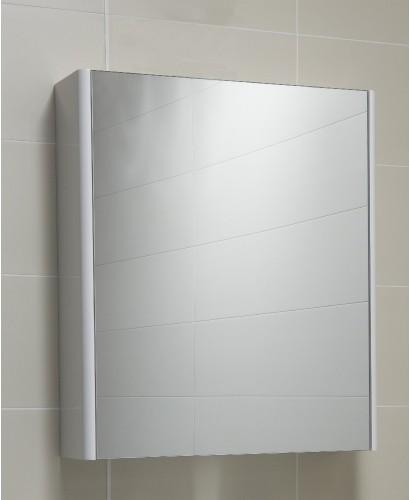 Elora 60 Mirror Cabinet White