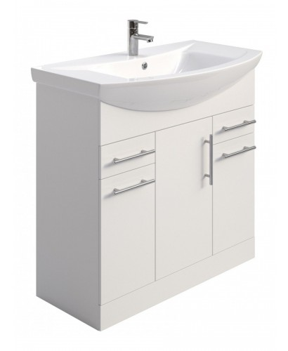 Blanco 85cm Vanity Unit & Basin - PRICE INCLUDES UNIT AND BASIN