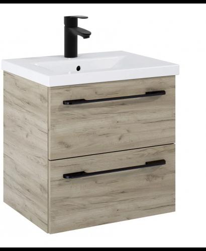 Soho Plus 50cm Craft Oak Vanity Unit with Basin