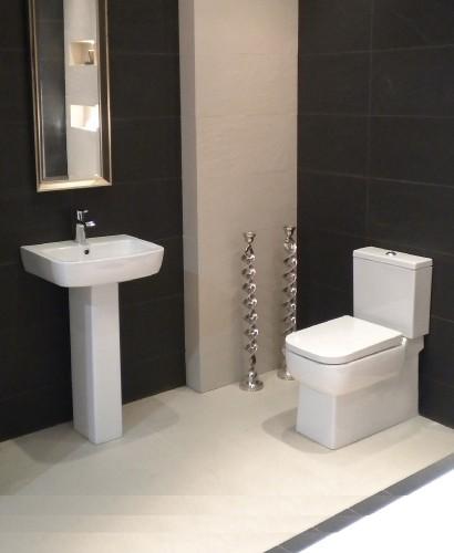 RAK Florence Toilet and Wash Basin Set