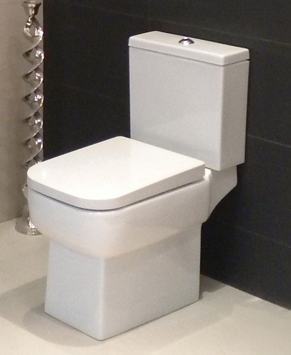 Monza Open Back Close Coupled Toilet & Soft Close Seat **FURTHER REDUCTIONS
