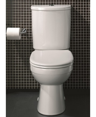 Twyford Flushwise® Galerie Close Coupled Toilet & Soft Close Seat - A Further 10% off With Code LOVE10