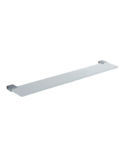 Kingston Glass Shelf 60cm Chrome