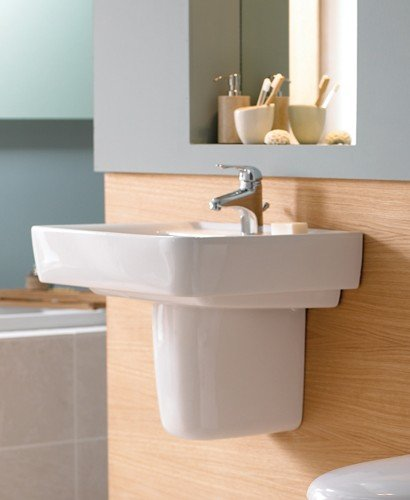 Galerie Plan Basin 55cm with Semi Pedestal