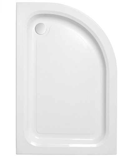 JT Ultracast 1200 x 800 Offset Quadrant Shower Tray RH