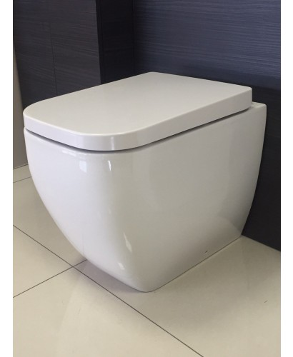 Wet Room Wall Panels >> Back to Wall Toilets RAK Metropolitan Back To Wall Toilet and Soft Close Seat