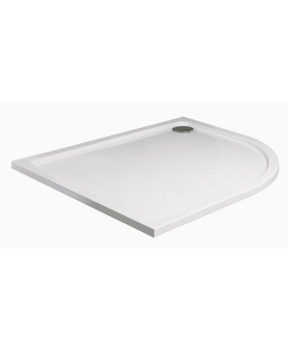 Slimline 1200 x 900 Offset Quadrant Shower Tray RH
