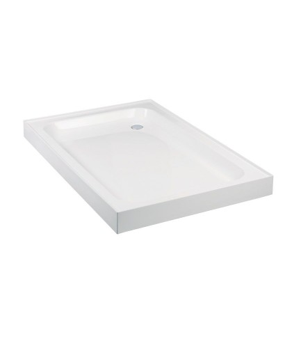 JT Ultracast 1100 x 800 Rectangle 4 Upstand Shower Tray