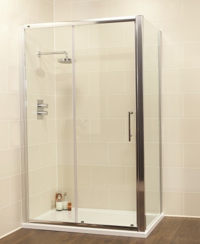 Kyra Range 1000 x 900 sliding shower door